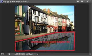 Membuat Efek Foto Genangan Air Dengan Photoshop Cs6 , Blog Panduan Belajar Photoshop Cs6 Untuk Pemula