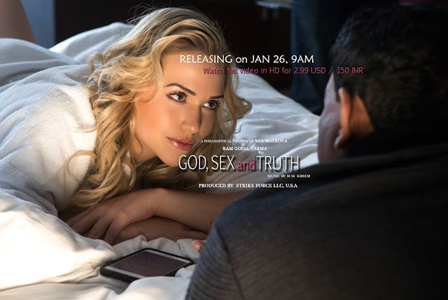 God, Sex and Truth: A Philosophical Theatise Of Mia Malkova By Ram Gopal Varma
