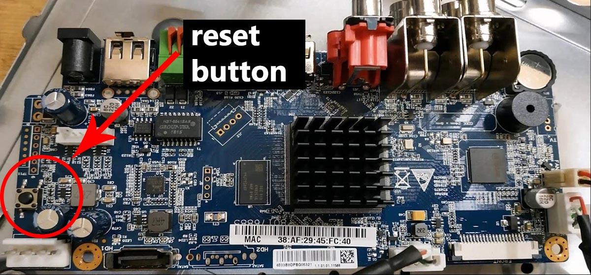 Lorex reset password