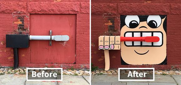 5 Foto Sebelum dan Sesudah di Poles Dengan Kreatifitas