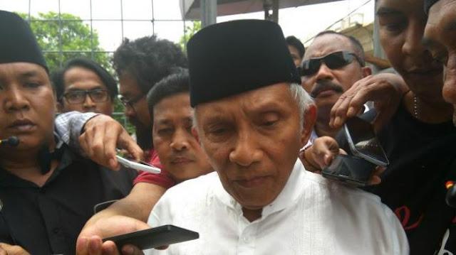 Amien Rais Ikut Demo FPI: Jokowi Jangan Lindungi Ahok