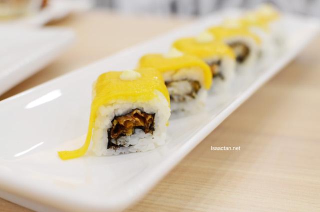 Golden SSC Maki - RM15.90 (Mango sushi)
