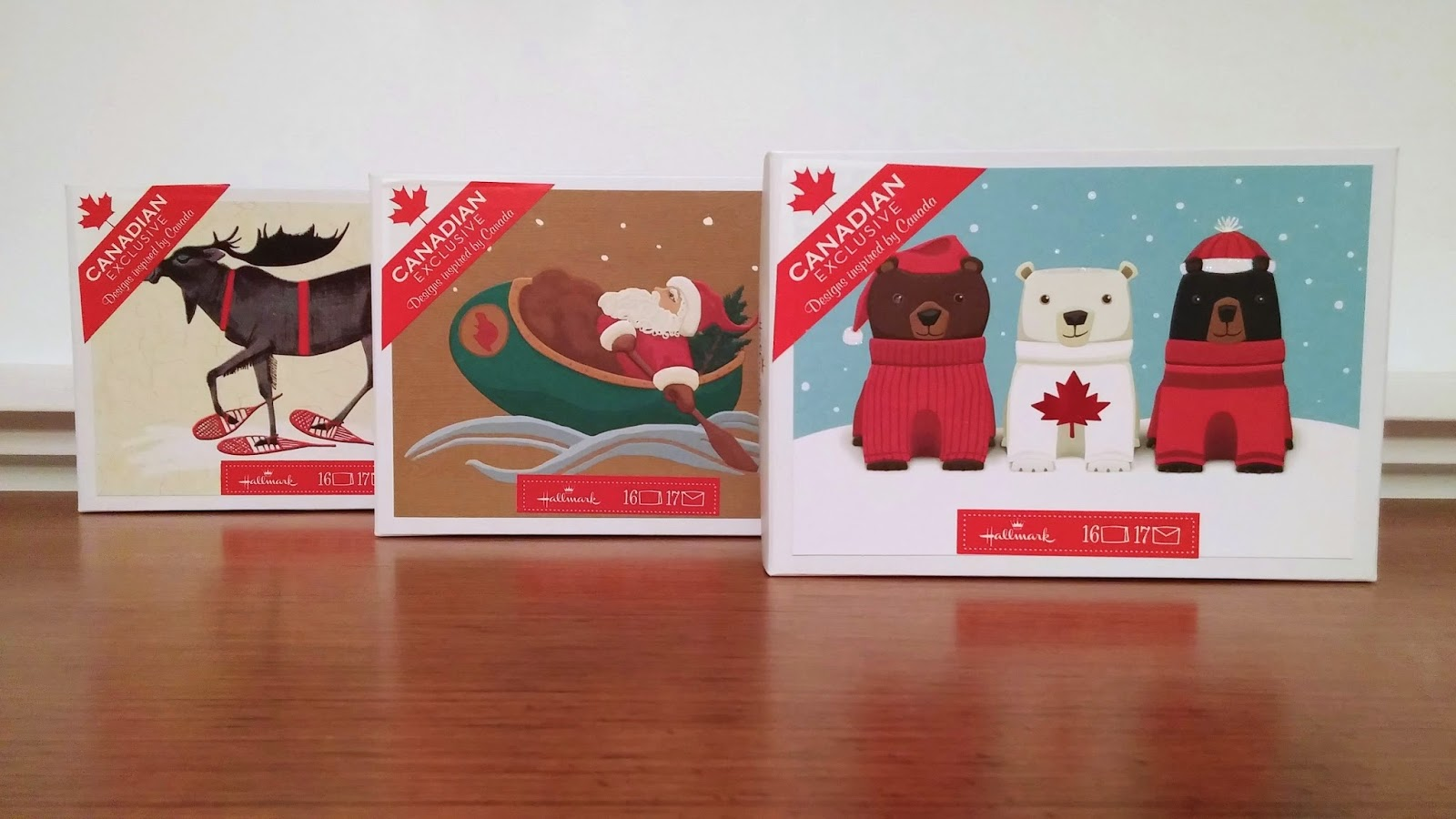Hallmark Holiday Gifting - Home and Native Land Greeting Cards Boxed Sets