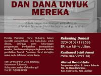 OPEN BOOK DONATION - KKN 29 PONDOK PESANTREN NURUL MUHAJIRIN DESA BALETBARU, KECAMATAN SUKOWONO KABUPATEN JEMBER