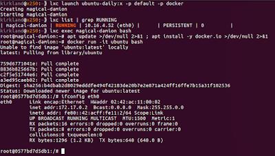 Docker 1 10 with Fan Networking in Ubuntu 16 04   Ubuntu