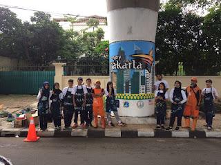 SMAN 110 Mengikuti Event Mural Antasari 2018