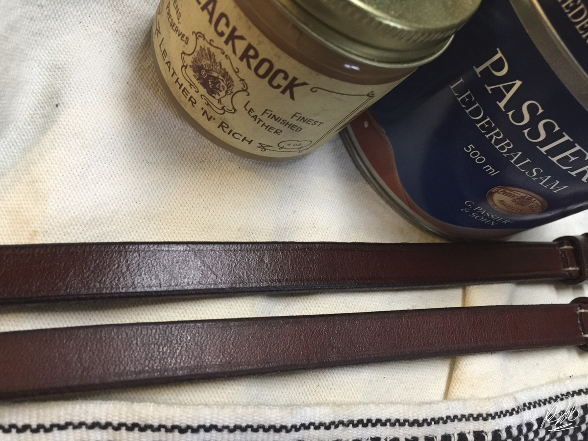 Blackrock Leather 'N' Rich over Passier Lederbalsam