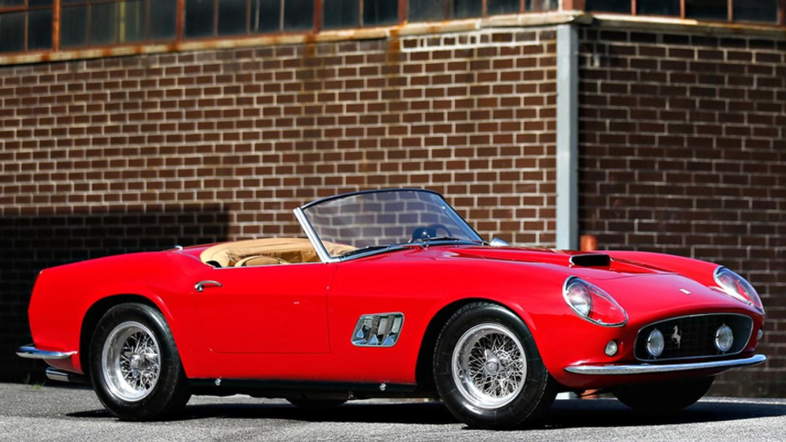 $15,180,000 – 1961 Ferrari 250 GT SWB California Spider