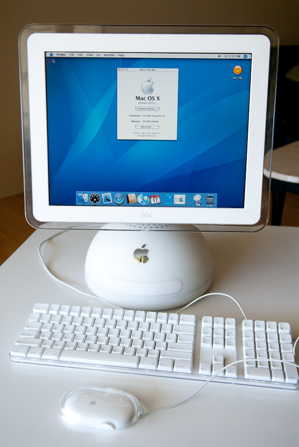Heygreenie Apple Imac Powerpc G4