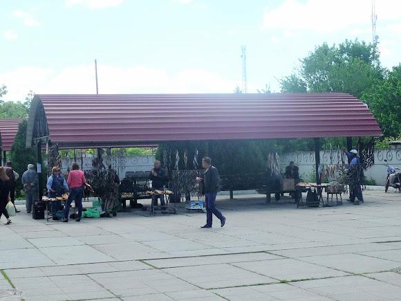 Новоалексеевка. Рыбный рынок