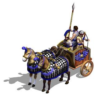 gambar kereta kuda perang yang digunakan oleh Hittites
