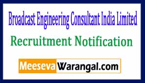 Broadcast Engineering Consultant India Limited
