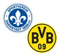 SV Darmstadt - Borussia Dortmund