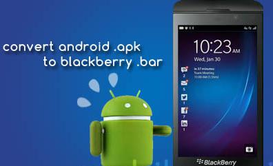 شرح تحويل وتثبيت تطبيقات Android الأندرويد على بلاك بيري Q10 and Z10