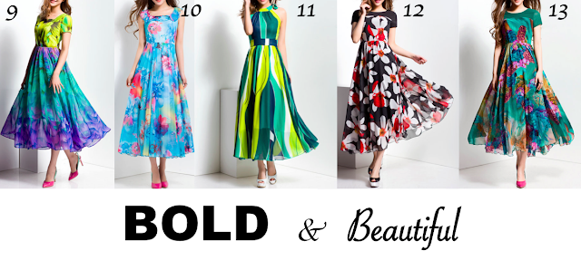 StyleWe, Printed Dresses at StyleWe, Bold & Beautiful