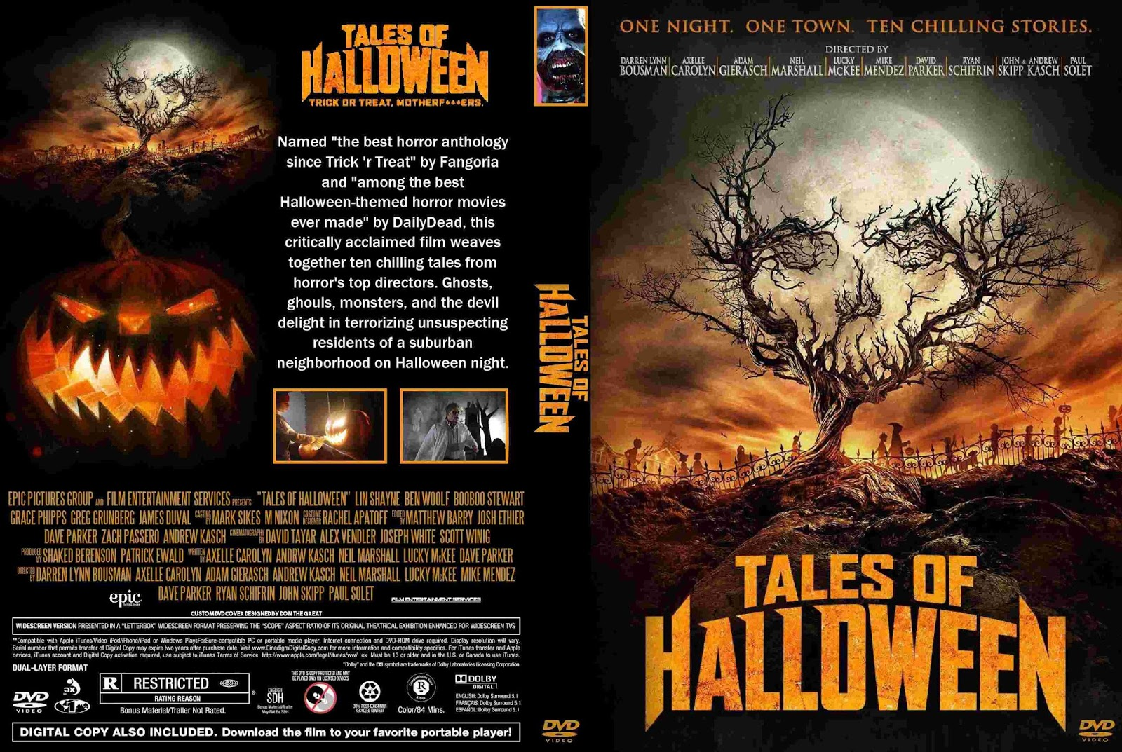Uncategorized Halloween Tales the horrors of halloween tales 2015 vhs dvd and uk cover