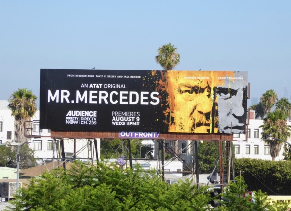 Mr Mercedes series premiere billboard