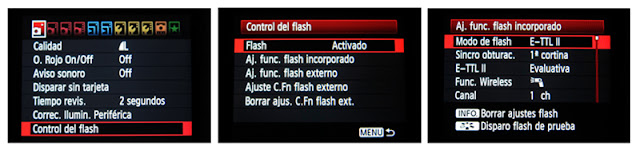 cómo fotografiar con flash
