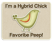 I made the top 3 over at The Hybrid Chick