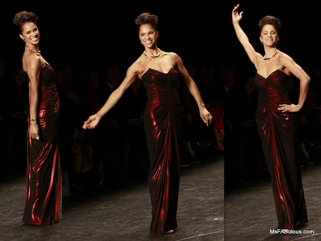 misty copeland red dress