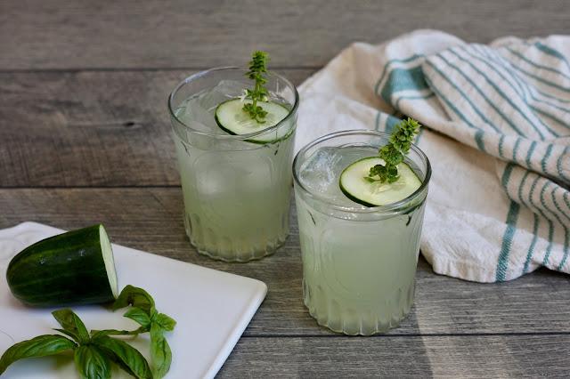 Cucumber Basil Smash