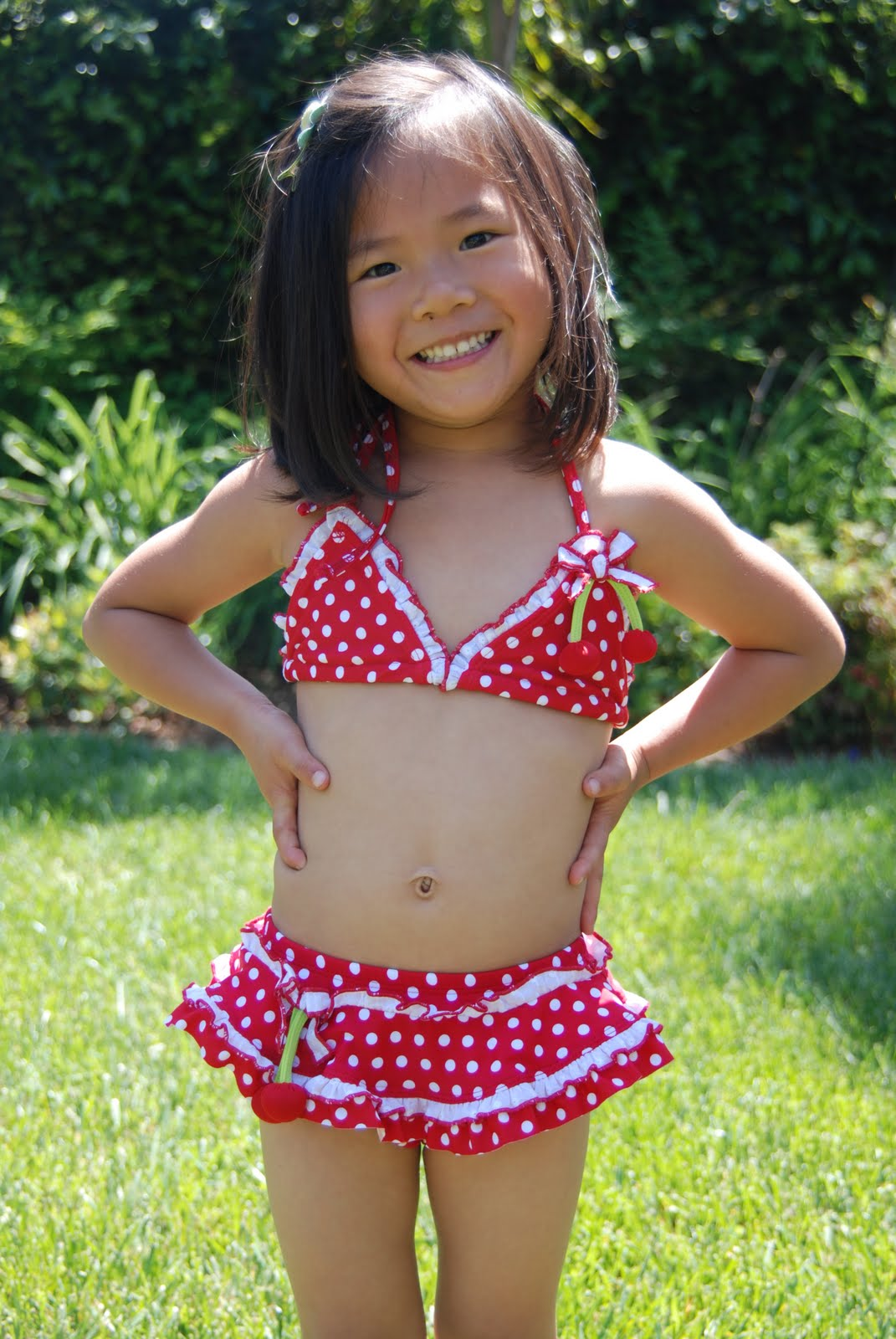 Hockey and Hairbows: New Bathing Suits
