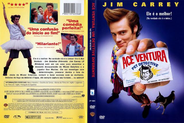 Capa DVD Ace Ventura - Um Detetive Diferente