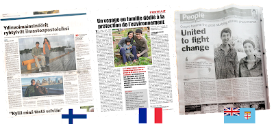 One Climate One Challenge in the press