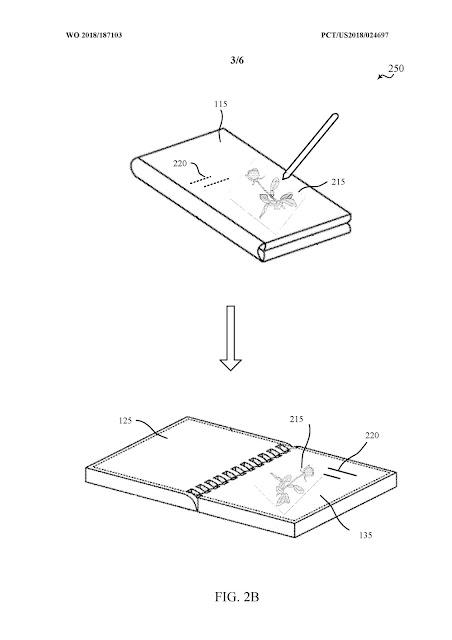 Microsoft'un en son patent başvurusu Galaxy Fold tarzı katlanabilir bir telefon için