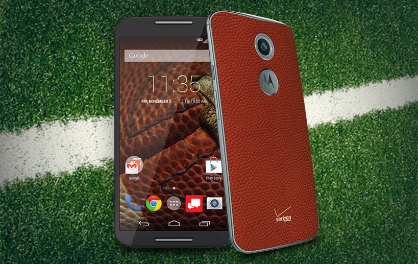 The Moto X in Football Leather: Try Not to Spike it