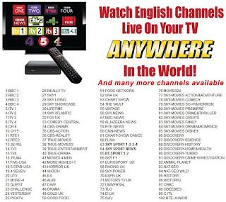 british telly tv television dubai uae abu dhabi
