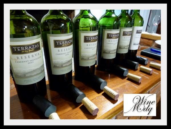 Wine Mdq Vertical Terrazas De Los Andes Cabernet Sauvignon