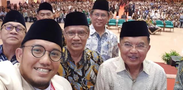 Menohok! Disindir Jusuf Kalla di Muktamar Pemuda Muhammadiyah XVII, Begini Respon Dahnil