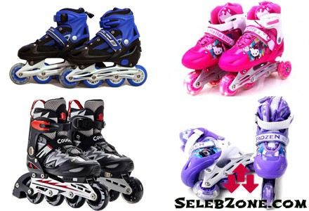 Harga Sepatu Roda Anak & Dewasa Murah Terbaru
