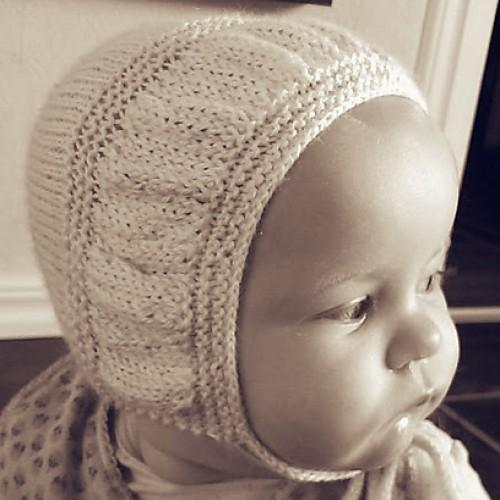 Baby Bonnet Knitting Patterns