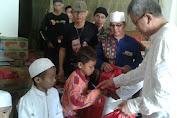 Ketua RW.010 Kelurahan Pekojan Berikan Santunan Untuk 250 Anak Yatim Piatu