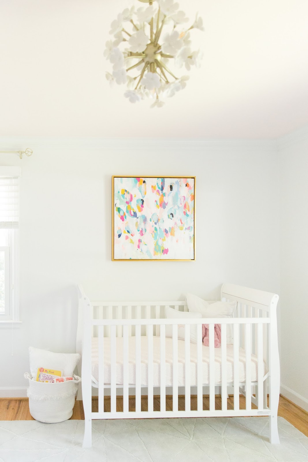 baby girl s nursery reveal olive and tate