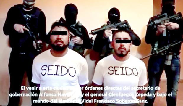 """LOS """"MENSAJES del NARCO"""" MARKETING CRIMINAL que FIRMA y AFIRMA DELITOS."""