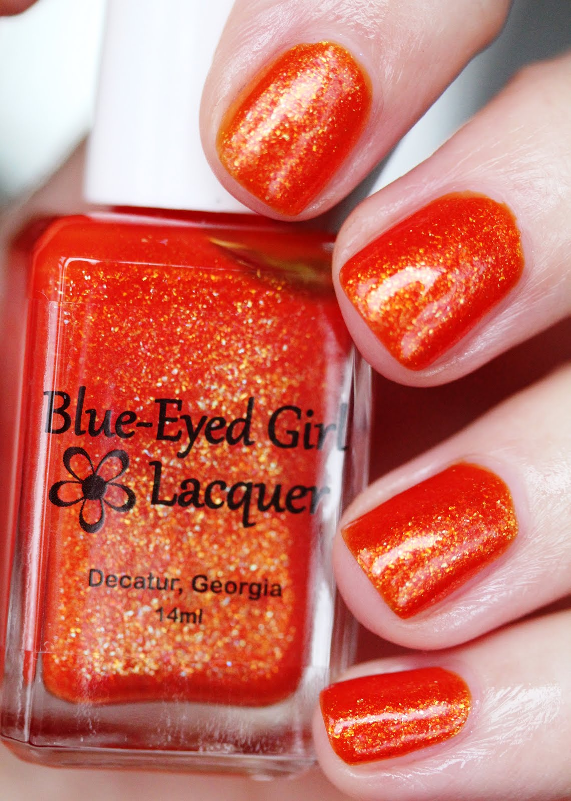 Streets Ahead Style: Blue-Eyed Girl Lacquer