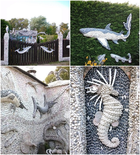 Extreme Shell Garden Decorations