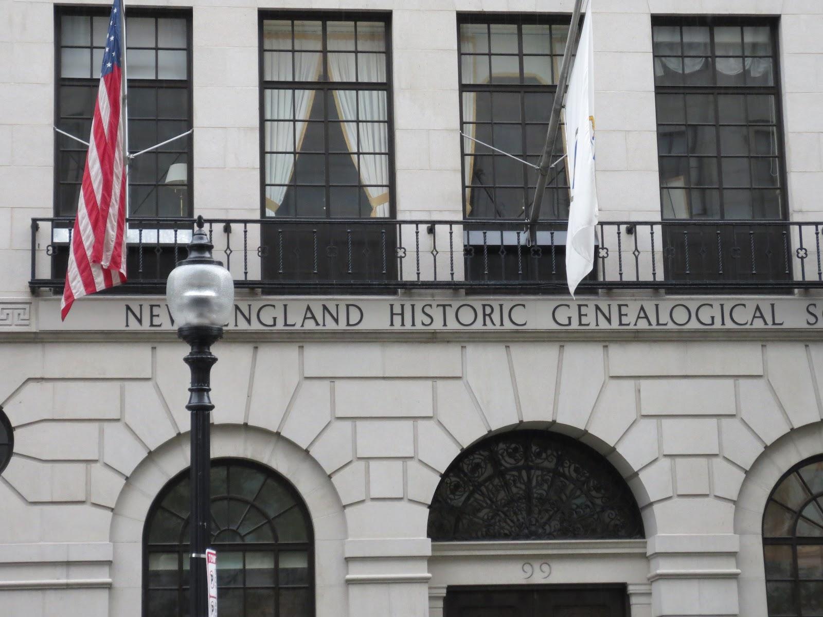 THE ART OF GENEALOGY: NEW ENGLAND HISTORIC GENEALOGICAL ...