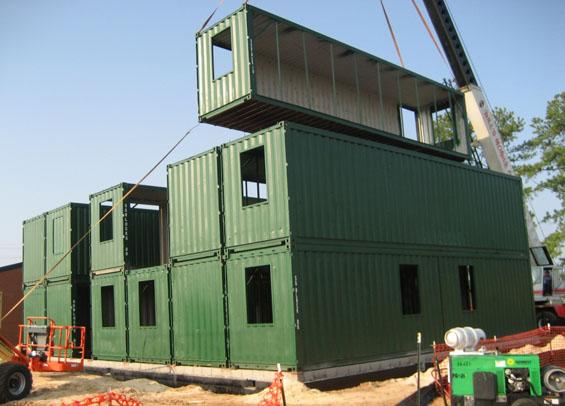 Bridget Beari Design Chat Shipping Container Architecture