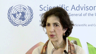 Fabiola Gianotti was inspired to break the traditional male  domination of particle science by a biography of Marie Curie