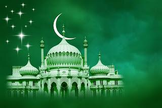 Unduh 57 Background Hijau Muda Islami Gratis