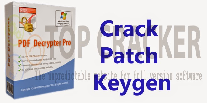 pdf decrypter pro key