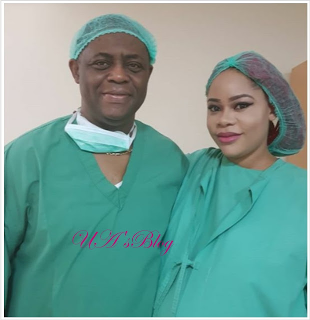 Fani-kayode welcomes a set of triplets on his wife's brithday