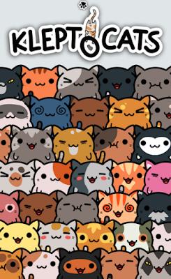 App Android e iOS, jogo Klepto Cats