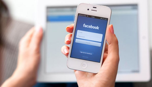 facebook login page mobile number