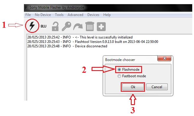 Flash Tool Sony] Hướng dẫn chạy rom gốc cho Sony ( Flash Stock rom