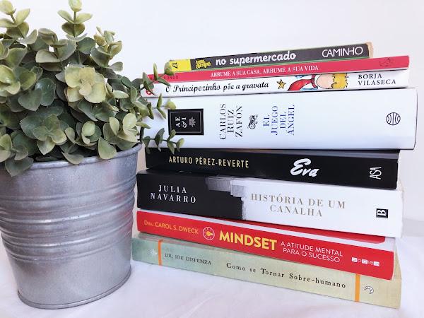 Os livros de 2018 e os planos para 2019